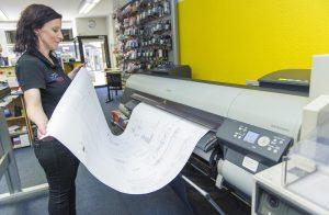 Drucker Großformat Kopierladen Werne