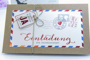 Einladung Polterhochzeit Kopierladen Werne